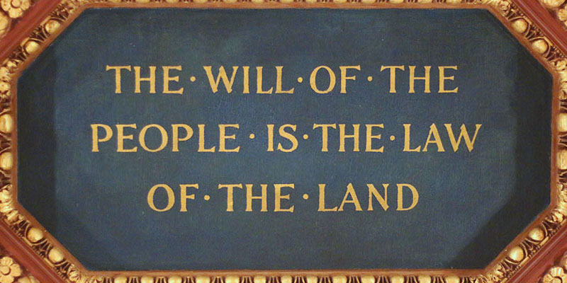 The Will of the People Mural