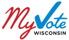 Register to vote at myvote.wi.gov